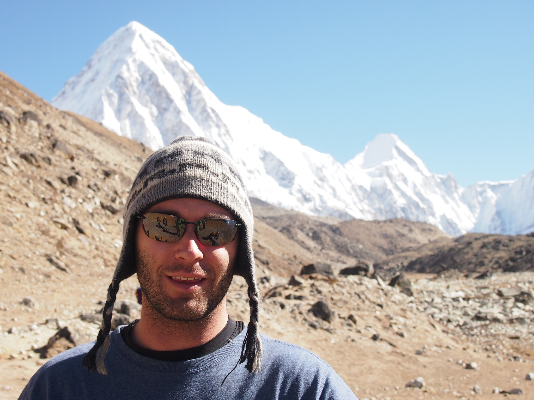 Dan on the Everest Base Camp trek